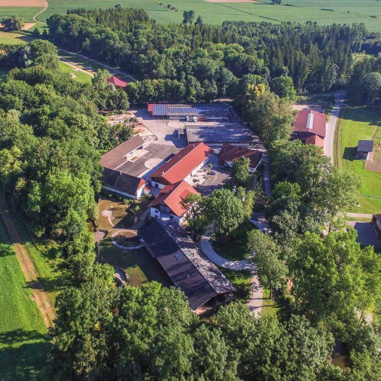 Luftaufnahme Gut Eschenlohmühle