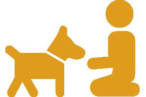 Tiergestützte Pädagogik Icon