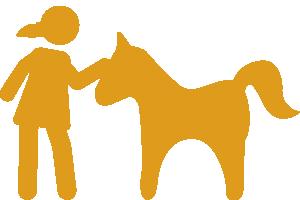 Tiergestützte Therapie Icon