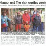 Pressebericht Allgäuer Zeitung Buchloe Regens Wagner